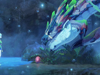 Monster Hunter Stories 2 Wings of Ruin Third wallpaper