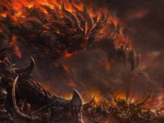 Monster Invasion MU Legend wallpaper