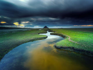 Mont Saint Michel France wallpaper