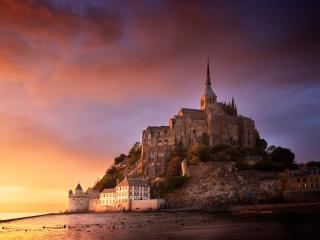 Mont Saint Michel wallpaper