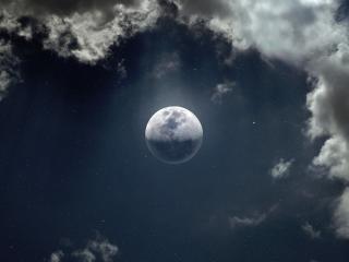 Moon 8k Ultra Desktop wallpaper
