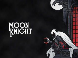 Moon Knight 5K Marvel wallpaper