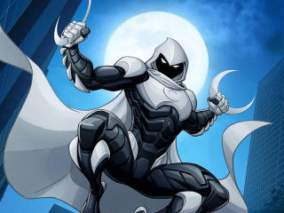 Moon Knight Artwork 2020 wallpaper