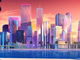 Moonbeam City wallpaper