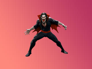 Morbius Minimal Fan Art wallpaper