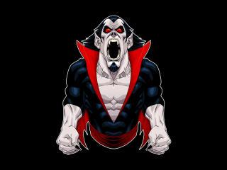 Morbius Vampire Minimal wallpaper