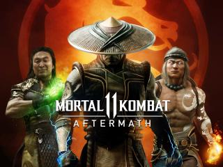 Mortal Kombat 11 Aftermath wallpaper