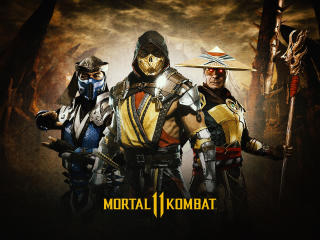 Mortal Kombat 11 Poster wallpaper
