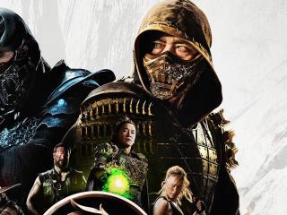 Mortal Kombat Movie Official Poster wallpaper