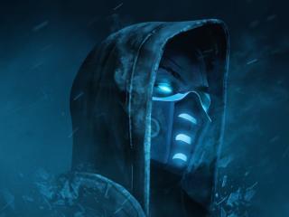 Mortal Kombat Scorpion Cool Art 2021 wallpaper