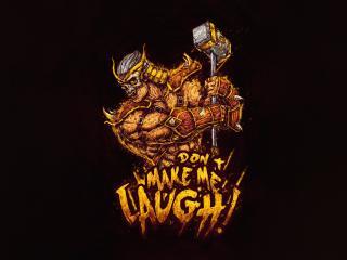 Mortal Kombat Shao Kahn Minimalist wallpaper