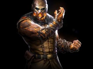 mortal kombat x, scorpion, ninja wallpaper