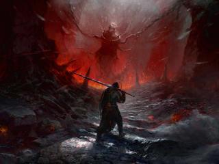Mortal Shell Game Warrior wallpaper