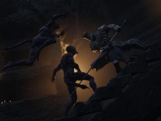 Mortal Shell Knight Battle wallpaper