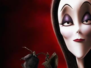 Morticia Addams The Addams Family wallpaper