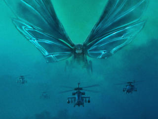 Mothra Godzilla King Of The Monsters wallpaper