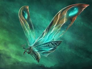 Mothra In Godzilla King of the Monsters wallpaper