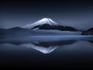 Mount Fuji Reflection wallpaper