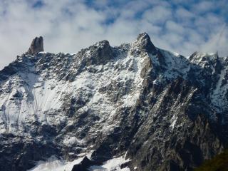 mountain, top, snow wallpaper