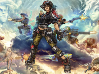 Moze Borderlands 3 wallpaper
