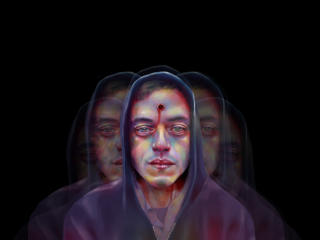 Mr Robot Shot Elliot In Hoodie wallpaper