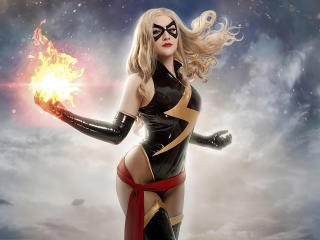 Ms Marvel 4k Art wallpaper
