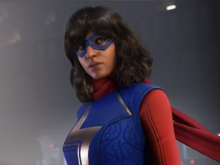 Ms Marvel in Avengers Game wallpaper