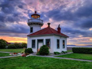 Mukilteo Lighthouse Washington wallpaper