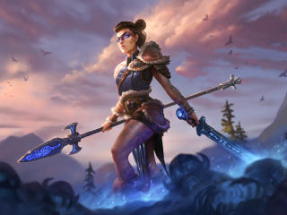 Mulan Smite wallpaper