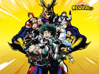 My Hero Academia All Character Poster wallpaper