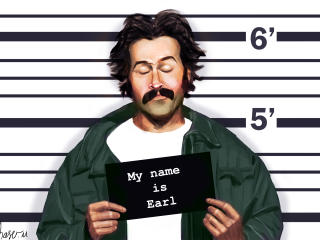 my name is earl, jason lee, earl wallpaper