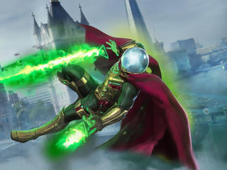 HD Wallpaper | Background Image Mysterio in Spiderman Movie