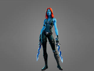 Mystique Fortnite Skin wallpaper