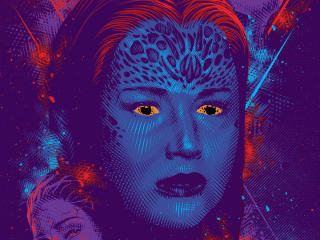 Mystique Jennifer Lawrence Dark Phoenix wallpaper