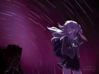 Nao Tomori Anime wallpaper
