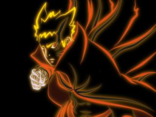 Naruto Anime Baryon wallpaper