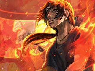 Naruto Fire Art wallpaper