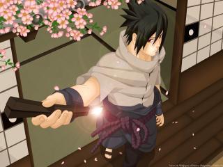 naruto, uchiha sasuke, naruto shippuden wallpaper