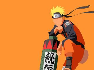 Naruto Uzumaki Minimalist wallpaper