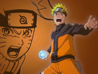 Naruto Uzumaki Rasengan wallpaper