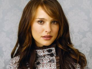 natalie portman, brunette, coat wallpaper