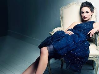 natalie portman, brunette,  dress wallpaper