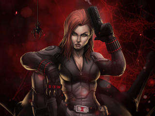 Natasha Romanoff The Black Widow wallpaper