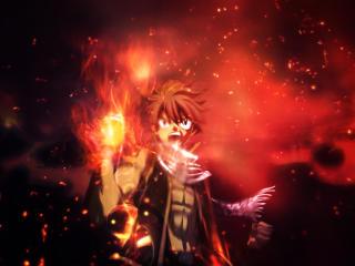Natsu Dragneel Anime Art wallpaper