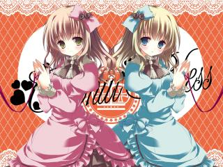 natsuki coco, girls, dresses wallpaper