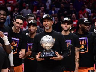NBA Phoenix Suns West Final Winner 2021 wallpaper