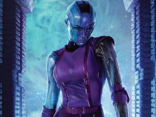 Nebula Guardians Of The Galaxy Vol 2 wallpaper