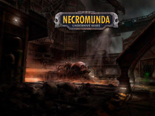 Necromunda Underhive Wars 4K wallpaper