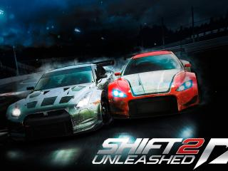 need for speed shift two, cars, road wallpaper