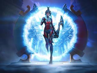 Neith In Smite wallpaper